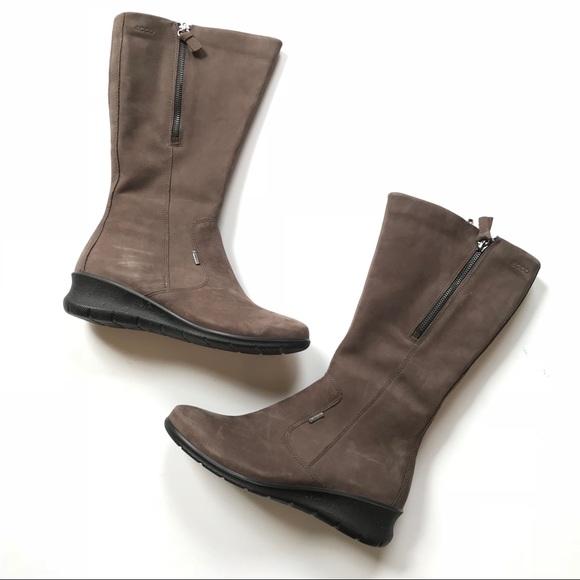f5b2d2831c2 ECCO Babett Wedge Tall Gore-Tex® Boots